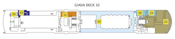 Costa Luminosa - Deck 10 Giada