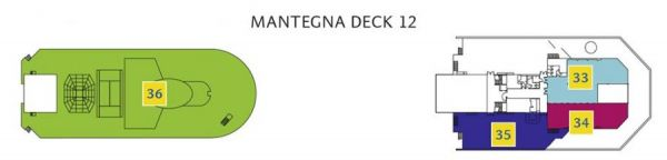 Costa Magica - Deck 12 Mantegna
