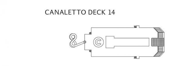 Costa Magica - Deck 14 Canaletto