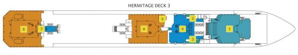 Costa Favolosa - Deck 3 Hermitage