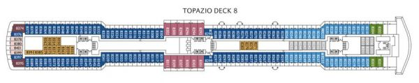 Costa Luminosa - Deck 8 Topazio