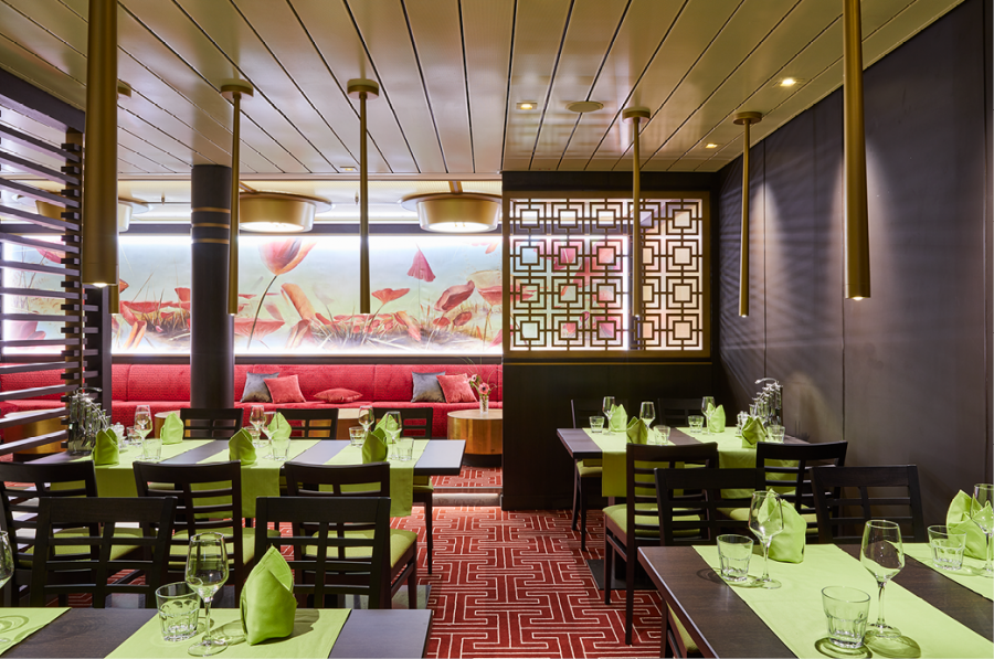 East Restaurant © AIDA Cruises